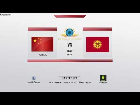 CS:GO World Championships 2015  Asian Qualifier | China vs Kyrgyzstan - Sep 3rd #1