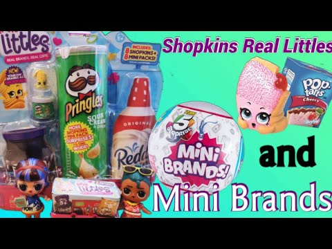 Shopkins real littles and mini brands