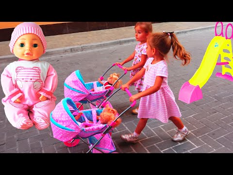 Куклы Беби Бон Bambolina Настя Как Мама и Видео для детей  / Magic Twins