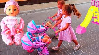 Куклы Беби Бон Bambolina Настя Как Мама и Видео для детей   Magic Twins