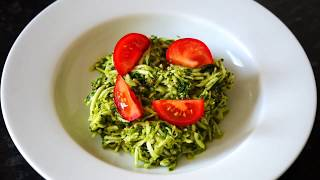 Weightloss Pasta Recipe | How To Make Super Delicious Zucchini Pasta