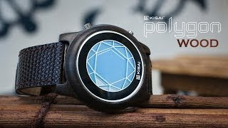 Kisai Polygon Natural Wooden Watch Design From Tokyoflash Japan