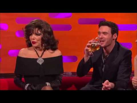 The Graham Norton  S19E05  Joan Collins, Richard Madden, Lily James, Paul Hollywood