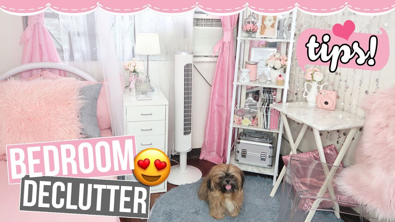 HOW TO CLEAN & ORGANIZE A SMALL BEDROOM (Declutter Tips + Life Hacks)