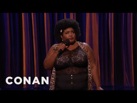 Dulcé Sloan Stand-Up 02/08/16 - CONAN on TBS - YouTube