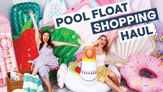Huge Pool Float Haul Summer 2019