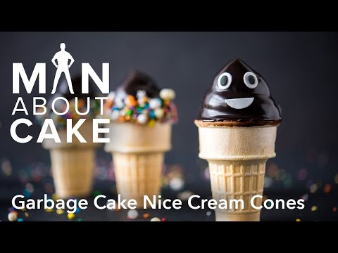 (man about) Garbage Cake Cones | Man About Cake SPECIAL EP with Joshua John Russell