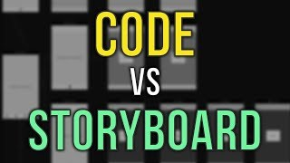 Storyboard vs. Code - iOS Development - Swift Video