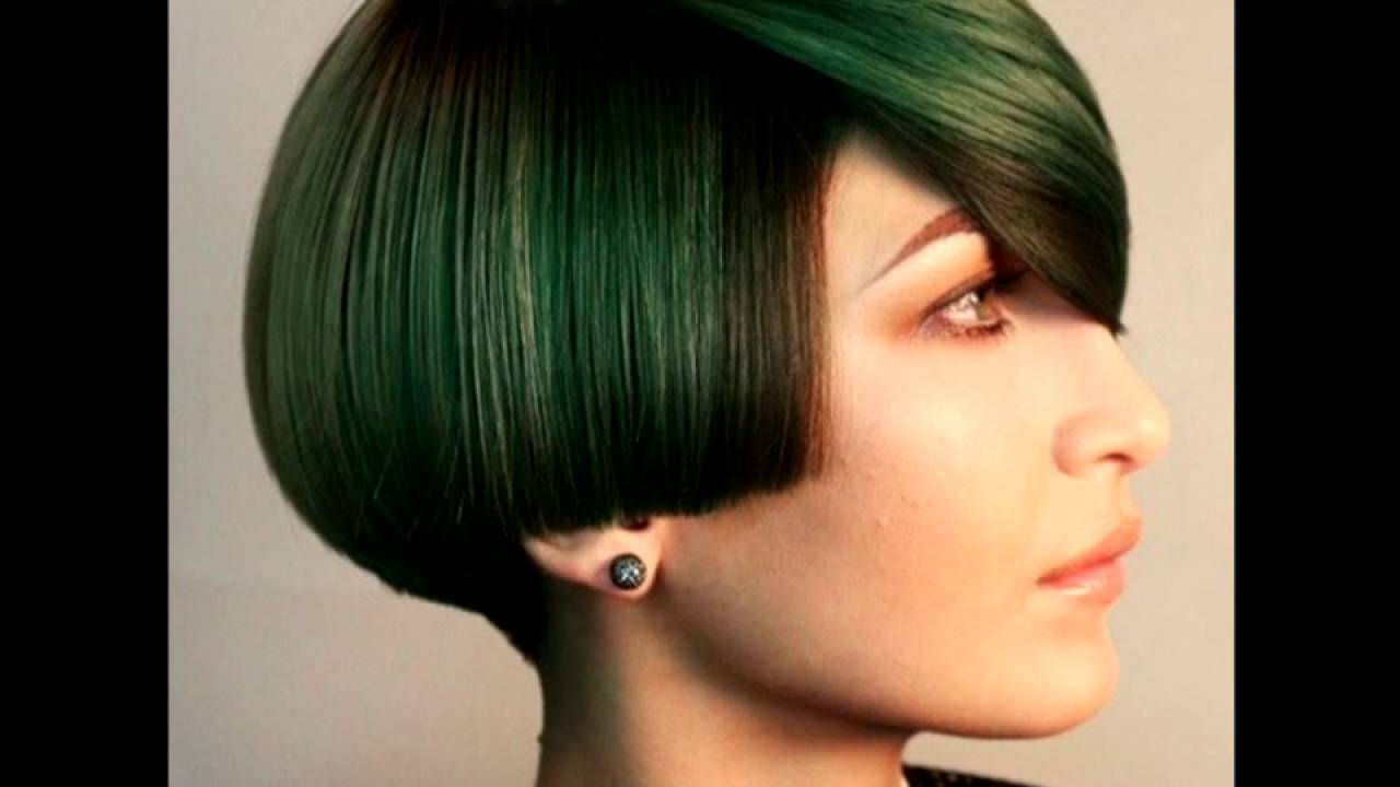 Women Hairstyle The Modern Bowl Cut Versions Youtube