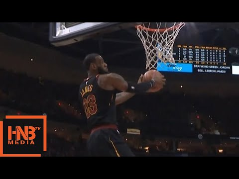 IT + LeBron James = Alley Oop / Cavaliers vs GS Warriors