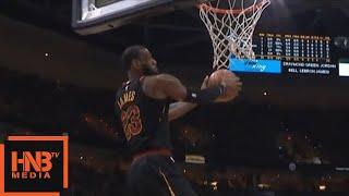 IT + LeBron James = Alley Oop / Cavaliers vs GS Warriors