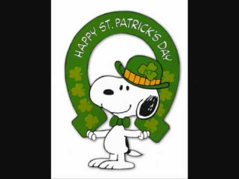 snoopy movies st patrick s day youtube