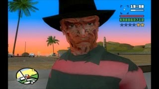 GTA SA EVOLUTION DOWNLOAD SKIN FREDDY KRUEGER BY SIDNEY FULL HD 1080p