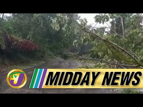 Tropical Storm Grace Batter Sections of Jamaica | TVJ Midday News - August 17 2021