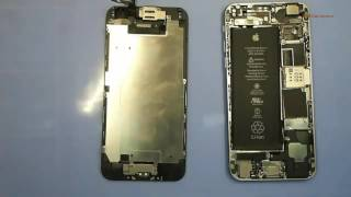 видео Замена вибромотора iPhone 6 Plus