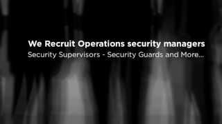 Operations security manager - Featured Profiles   Location Bristol, PA 19007