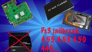 PS3 Jailbreak with E3 Flasher (NO ESATA Station required) ****4.55, 4.53, 4.50,4.46***