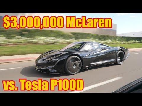 Driving the New $3,000,000 McLaren Speedtail.