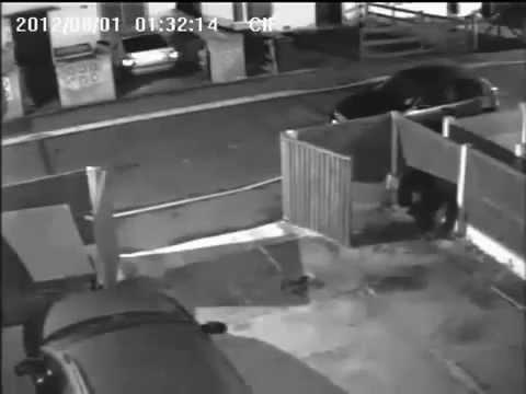 CCTV rakam hantu budak lompat atas kereta