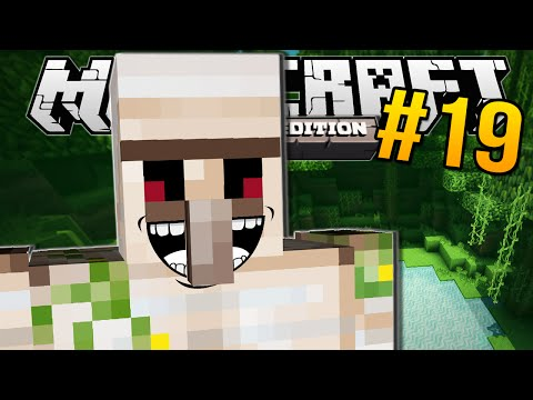 Minecraft Pocket Edition | CREATING A GOLEM!! | #19