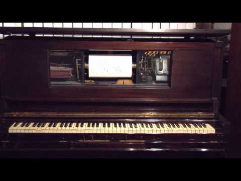 1928~ Irvington Player Piano - Chopin Polonaise Op. 53 - J. Lawrence Cook