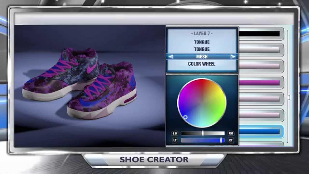 NBA 2K14 Shoe Creator - KD 6 Aunt Pearl - YouTube c673057e1