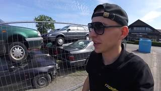 КАДРЫ ДО СЛЁЗ. Свалка авто в Германии