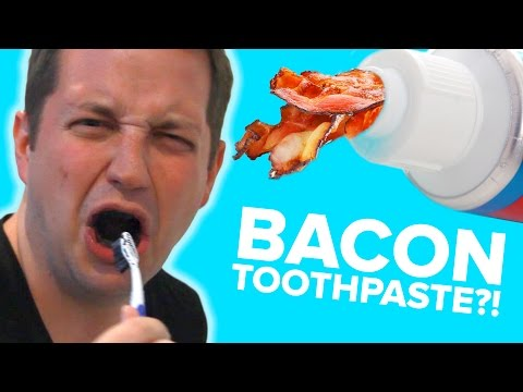 Thumbnail: People Try Strange Toothpaste Flavors
