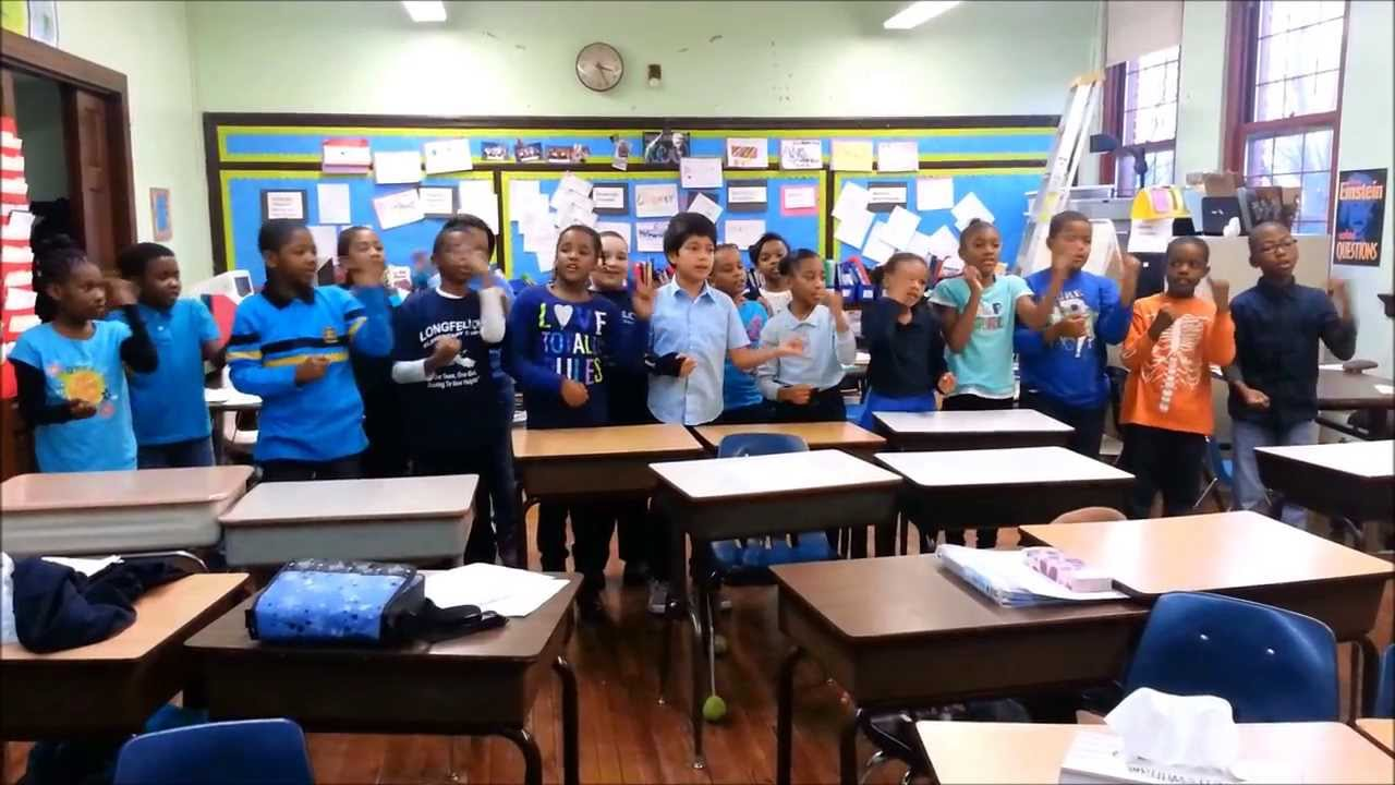 Cheers For Elementary Classrooms ~ Longfellow elementary school th grade performing math