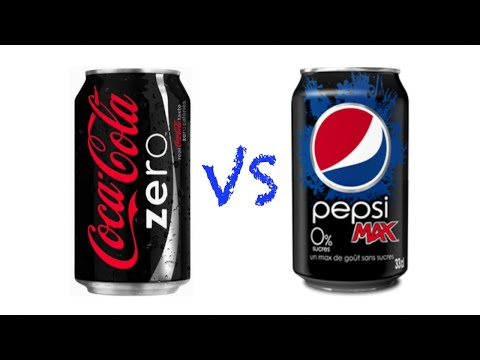 Coca-Cola ZERO VS Pepsi MAX