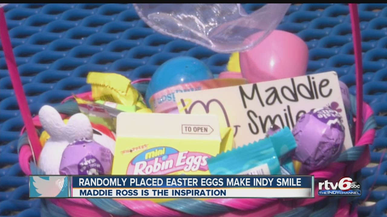 Family of Maddie Ross randomly places Easter eggs around Indy