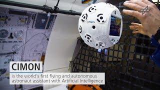 Trailer: CIMON - the intelligent astronaut assistant