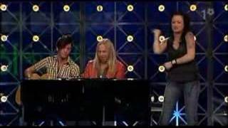 Sara Löfgren - Hippy hippy shake (Så ska det låta 2006)