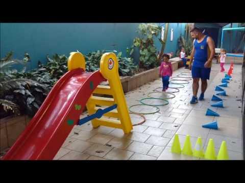 """""""Mega Circuito"""" Educação Infantil: Maternal - Educação Física - Colégio Messina 07/06/2017"""