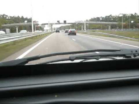 A28 Utrecht - Amersfoort motorway, the Netherlands (2008)