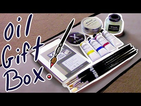 LET'S OIL PAINT!!  (ノ◕ヮ◕)ノ* Trekell and Gamblin Supplies/Review!