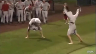 Hilarious College Baseball Rain Delay