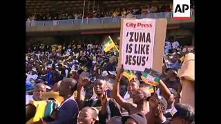 WRAP ANC rally, appearance by Nelson Mandela, Zuma, COPE rally