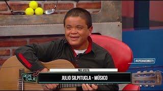Julio Silpitucla, músico, en REPECHAJE