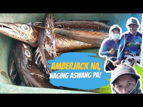 AMBERJACK HUNTING GONE WRONG| ASWANG FISH HUNTING USING VERTICAL JIGGING