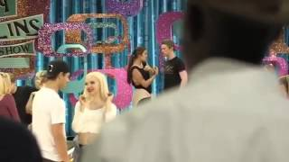 Dove cameron and Garrett Clayton - kiss each other