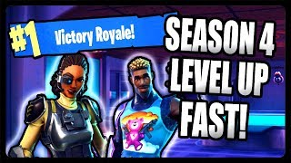 fortnite how to level up battle pass fast