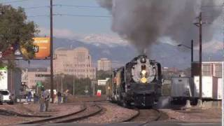 Union Pacific 844 - New Mexico / Arizona Centennial Tour - Part 1