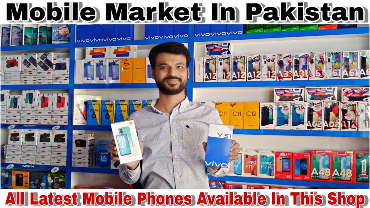 Mobile Market In Pakistan I All Brands New Models Mobile Phones I Mobile Market In Gulshan Karachi