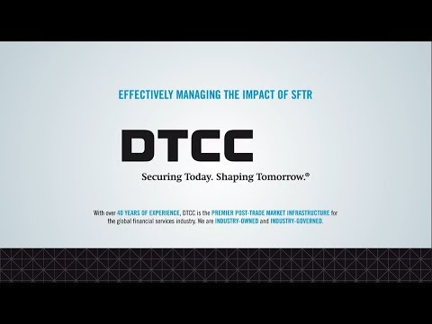 DTCC SFTR Repo Animation Infographic