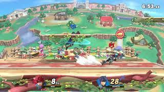 MasonEliwood (Roy) vs. Marth - Online Battle Arenas (Public) Super Smash Bros. Ultimate/ SSBU