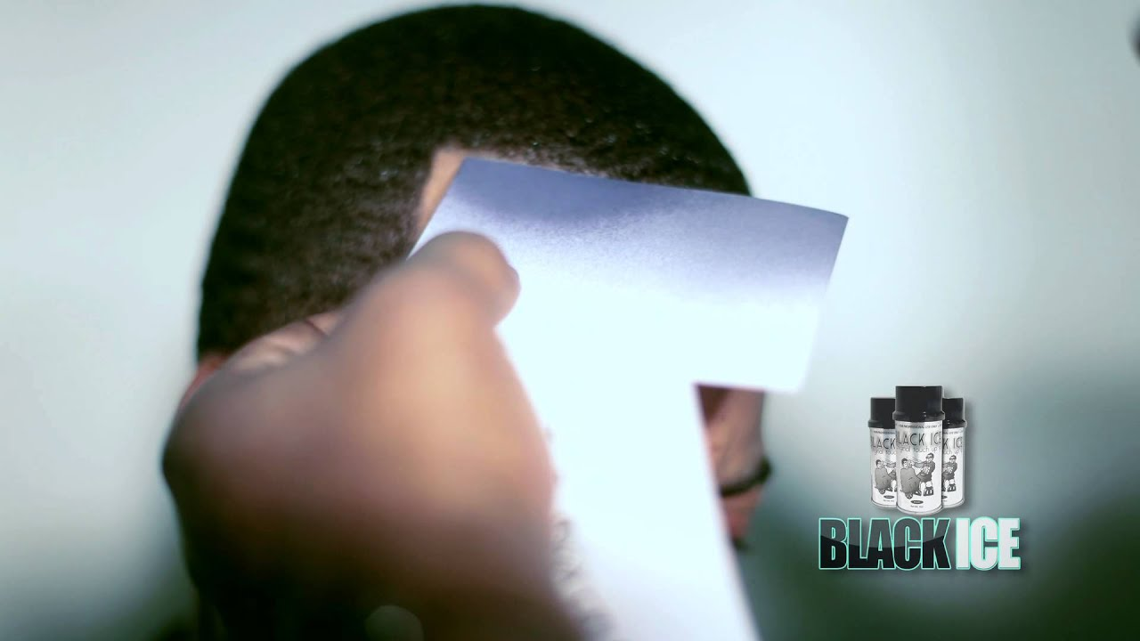 Black Ice Hair Spray >> Black Ice Spray The Original Touch Up Spray Youtube