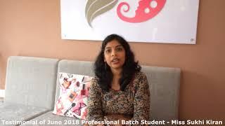 Makeup Student Testimonials : Face Palette by Lekshmi Menon