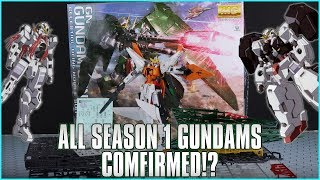 Stop me now if I'm getting too hype, but there's something inside (and something outside!) that suggests we'll be finally seeing the Gundam 00 original suits in ...
