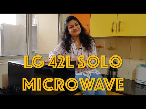Review - LG 42L Solo Microwave Oven (MS4295DIS)